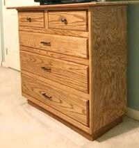 NEW! Hand built wooden 5-drawer chest Reston, 20191