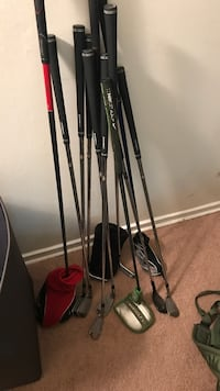 Adams golf golf clubs hey driver is Cleveland and putter is Nike. Going out of town so would like to sell relatively quickly   Alexandria, 22311
