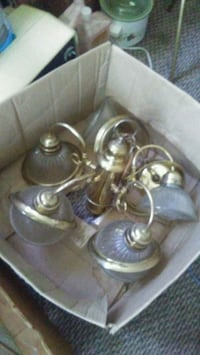 brass-colored candle holder Indianapolis, 46225