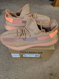 Yeezy 350 Clay size 12  Rockville