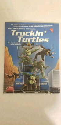 Truckin Turtles Roleplaying Source book