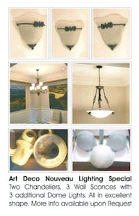8 Piece Lighting Package for Sale in Toronto Toronto, M1H 2P7