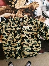 2003 1st camo cyclers windbreaker + zipoff sleeves Surrey, V3V 1X7