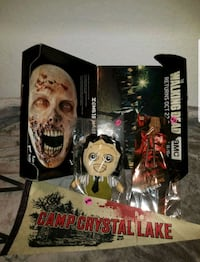 Loot Crate Collectibles w/Original Zombie Mask Box Dover, 33527