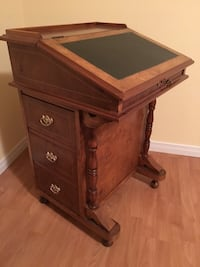 Vintage desk/secretaire with chair - a classic one of a kind approx 60 years old Markham, L3R 6M6