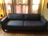 Room & Board charcoal/brown mix. Excellent condition. Minneapolis, 55407