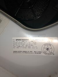 GE profile dryer gas. Works good We have been using this appliance for 10 years it is in good condition and works great. Our washer went out so we bought a new set. Palatine, 60074