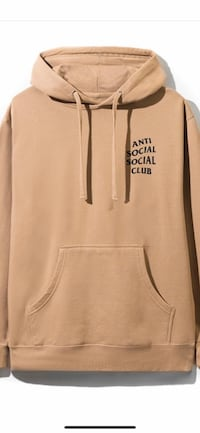 Anti social social club hoodie large  St Catharines, L2S 4A6