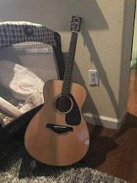 brown and black classical guitar Conroe, 77384