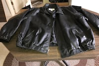 Men,s LEATHER JACKET SIZE 4X Woodbridge, 22193