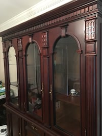 Cherry wood China Cabinet Vienna, 22181