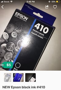 NEW EPSON black ink #410 Hyattsville, 20782