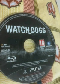 Watch dogs ps3 oyun cd si