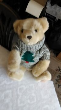 STUFFED TEDDY BEAR WITH SWEATER