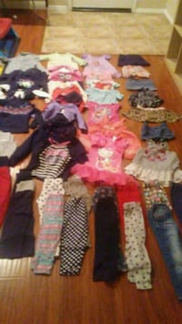 Toddler girl clothes 45 pieces size 3T/4T  Hesperia
