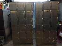 Ambassador 304 stainless steel lockers Wakefield