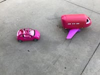 pink and purple plastic toy Decatur, 62521