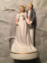 Mini Ceramic Wedding Figurines