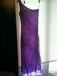 Long purple dress size large Toronto, M1S 4E7