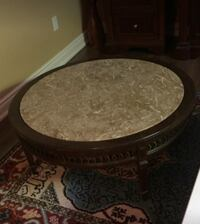 Marble and wood coffee table Vaughan, L6A 3R9