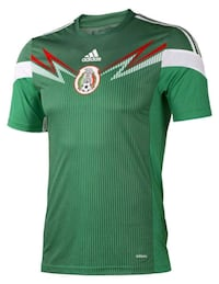 green and white Adidas jersey shirt Lewisville, 75067
