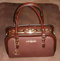 brown leather Michael Kors 2-way bag Winder, 30680