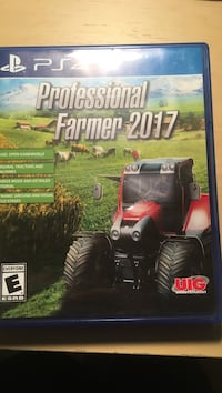 Professional farmer 2017 Sony PS4 game case