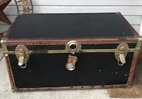 Old trunk with tray.  Kent, 44240
