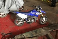Blue and white motocross dirt bike Schenectady, 12303