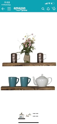 Rustic Shelf Set
