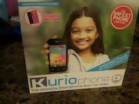 KURIO PHONE THE ULTIMATE SMARTPHONE  BUILT FOR KID'S  Brampton, L6P 1B4