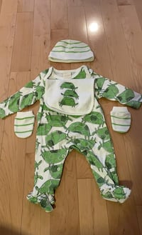 Baby outfit 5 piece set 3-6 month Mississauga, L5B 0C5