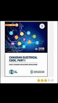 Latest 2018 Canadian Electrical Code Book Part 1 24th Edition Brampton