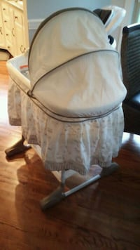baby's white bassinet Louisville