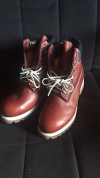 Timberland size 7 six inch hoot leather Mississauga, L4Z