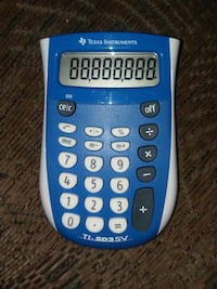 Texas Instrument TI-503-SV calculator White Cloud, 49349