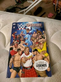 WWE Superstar Book