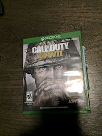 Call of Duty WWII Xbox One game case Hoboken, 07030