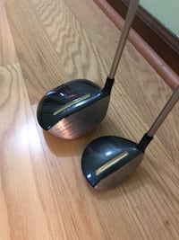 Golf Clubs (Driver and Utility Club)