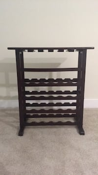 black wooden 4-tier rack Alexandria, 22314