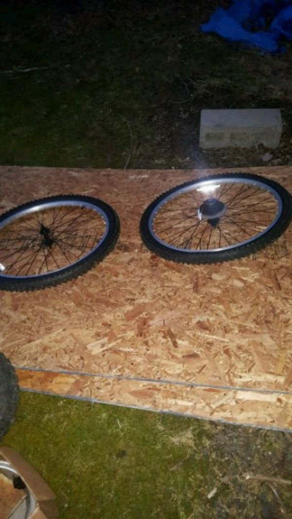 Used 26 Inch Mountain Bike Wheels For Sale In New City Letgo