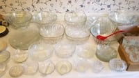 Crystal Glass Punch Bowl Sets & Servers Bowie, 20715