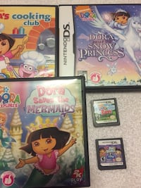 Three nintendo ds game cases Regina, S4R 1V8