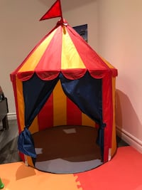 IKEA circus themed play tent Vaughan, L6A 4H3