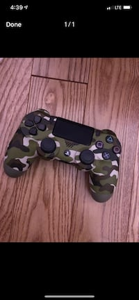 black and brown camouflage Sony PS4 controller Mississauga, L5B