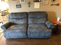 2 Reclining Couches (Sofa and Loveseat)