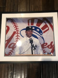 Alex Rodriguez Framed and Signed Picture New York, 10016