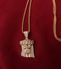 Gold plated Sterling SilverReligious collection( Cross and Jesus ) Hartford, 06103