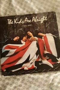 The Who The Kids Are Alright vinyl album La Plata, 20646