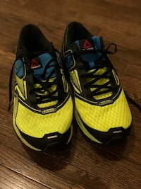 pair of yellow-and-black Adidas sneakers Pickering, L1X 0C7